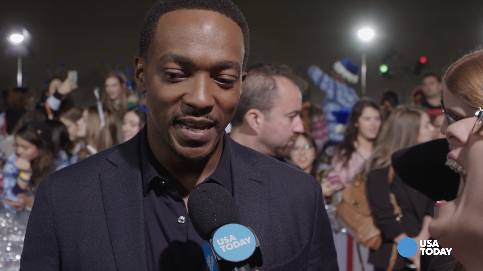 How Anthony Mackie got his first major comedy role