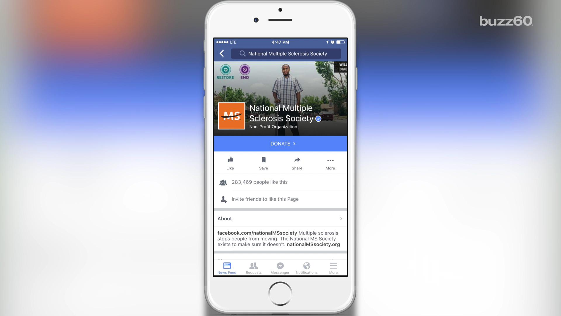 Facebook tests new fundraising tool