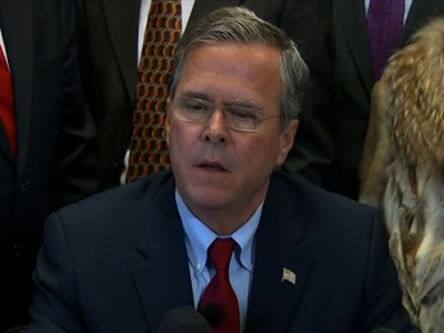 """Bush: Must """"Push the Pause Button"""" on Refugees"""