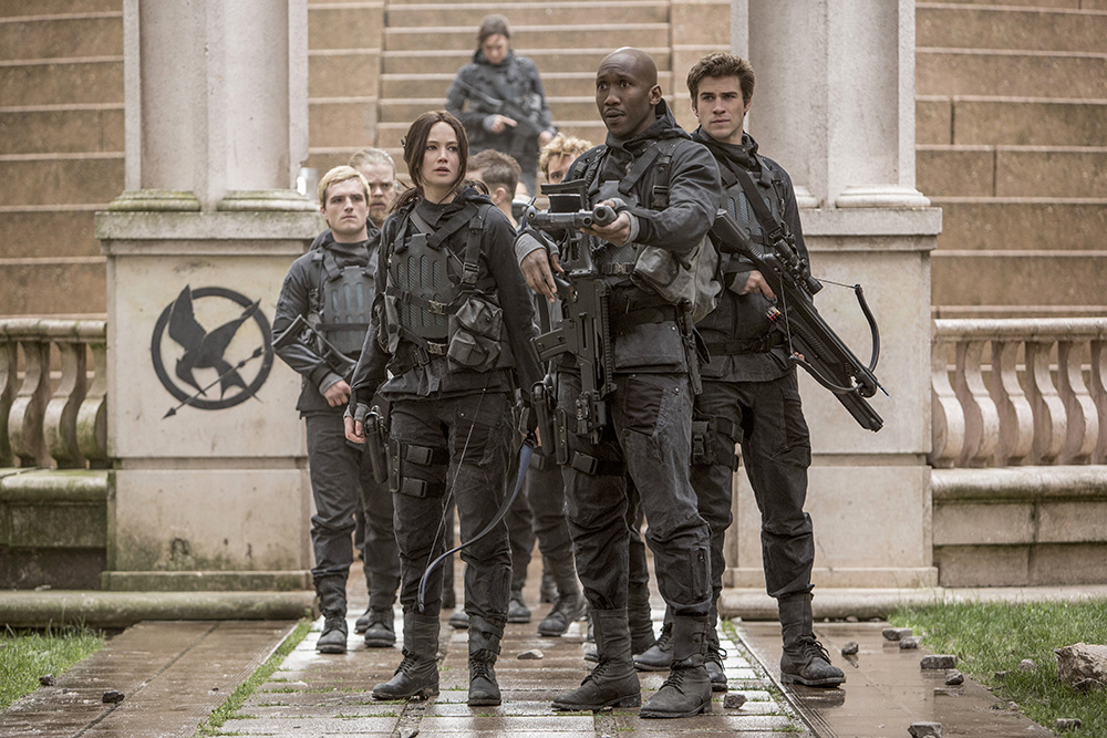 'Hunger Games' stars take their final bow with 'Mockingjay ...