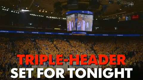 Triple-Header set for tonight