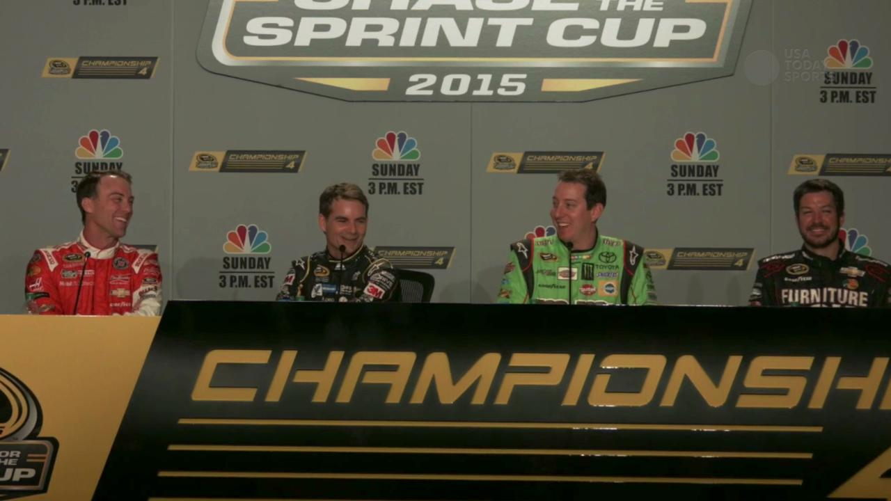 Championship 4 pick their Chase for the Sprint Cup champion