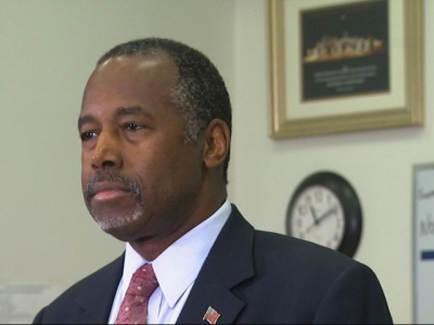 Ben Carson compares some Syrian refugees to rabid dogs
