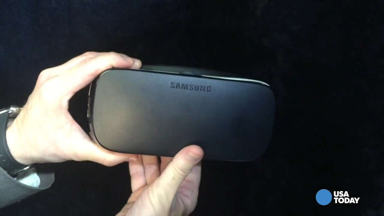Samsung has a new and improved Gear VR virtual reality headset. Ed Baig takes a closer look.