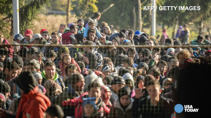Refugees fleeing to Europe at staggering rate