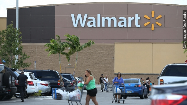 Woman attacked for cutting line at Walmart