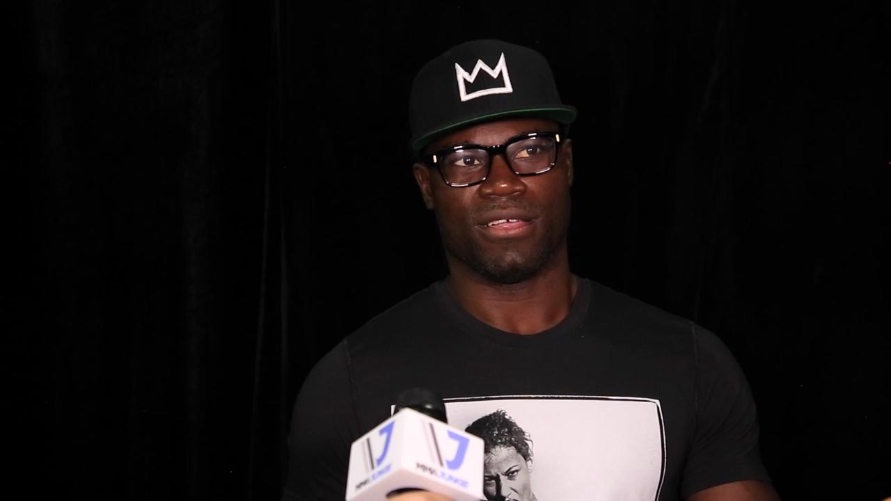 Uriah Hall explains 'terrorist' attack on social media 'haters'