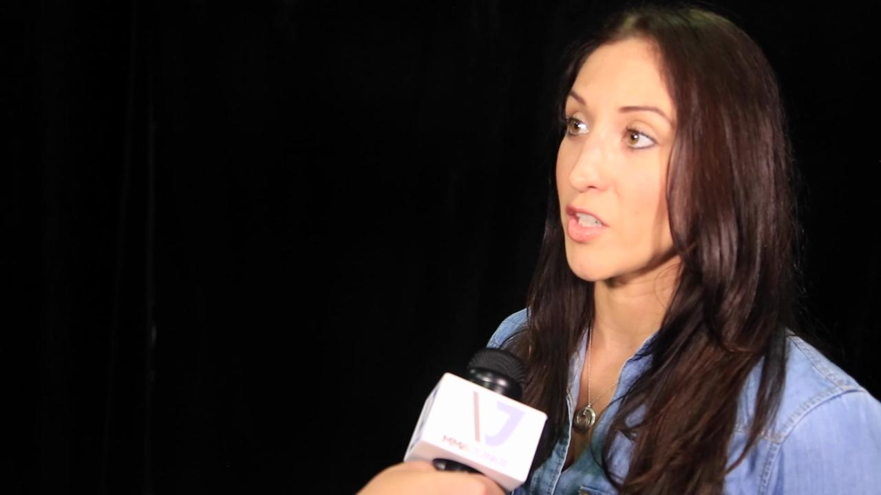 Jessica Penne taking time off to build strength as a strawweight