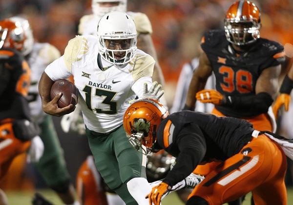 Week 12 Amway Coaches Poll: Baylor impresses