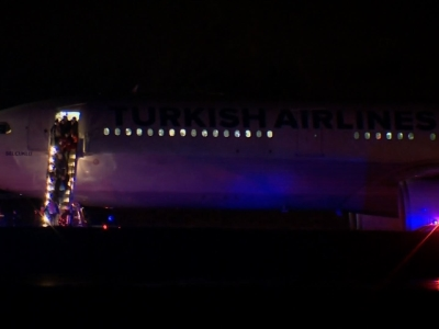 Turkish Airlines flight diverted after bomb scare
