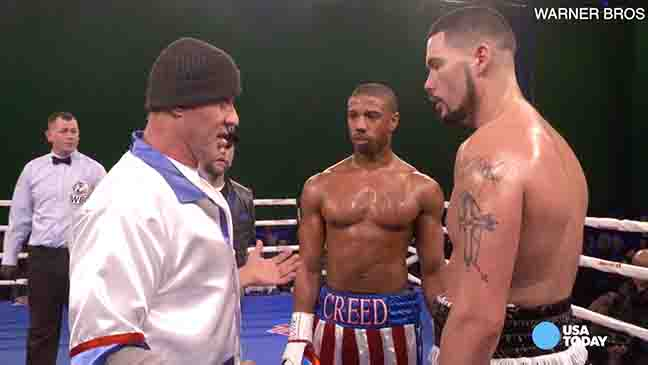 Michael B. Jordan preps for 'Creed' with diet, taking a punch