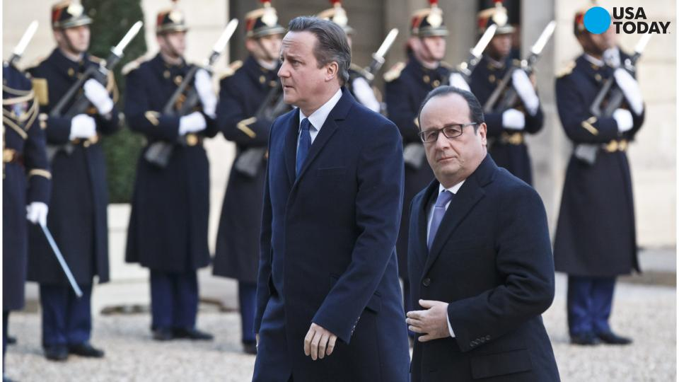 David Cameron will seek Parliamentary approval to join airstrikes against ISIS
