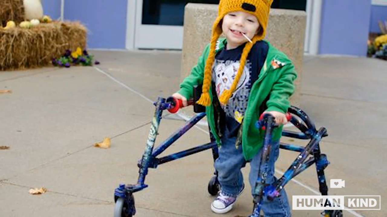 Tattoo artist pimps out toddler's walker