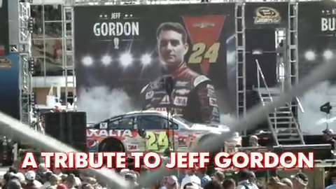 A tribute to Jeff Gordon