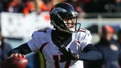 Brock Osweiler to start for Broncos in Week 12