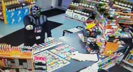 Armed 'Darth Vader' tries to rob convenience store