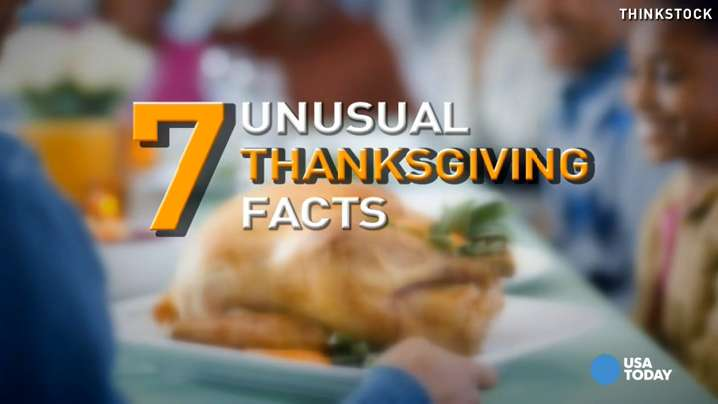 Thanksgiving is a time of coming together with family and friends. In between bites of stuffing and pumpkin pie, snack on these unusual Turkey Day facts.