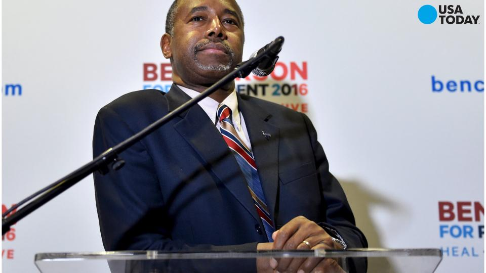 Carson camp at a loss about 9/11 comments