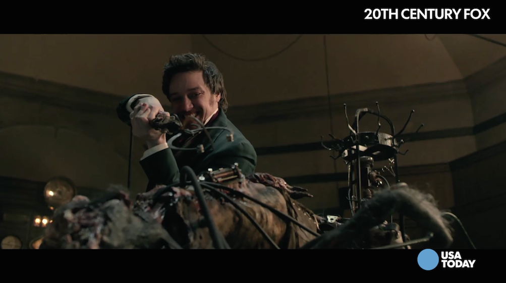 Daniel Radcliffe and James McAvoy on the best way to kill a Frankenstein