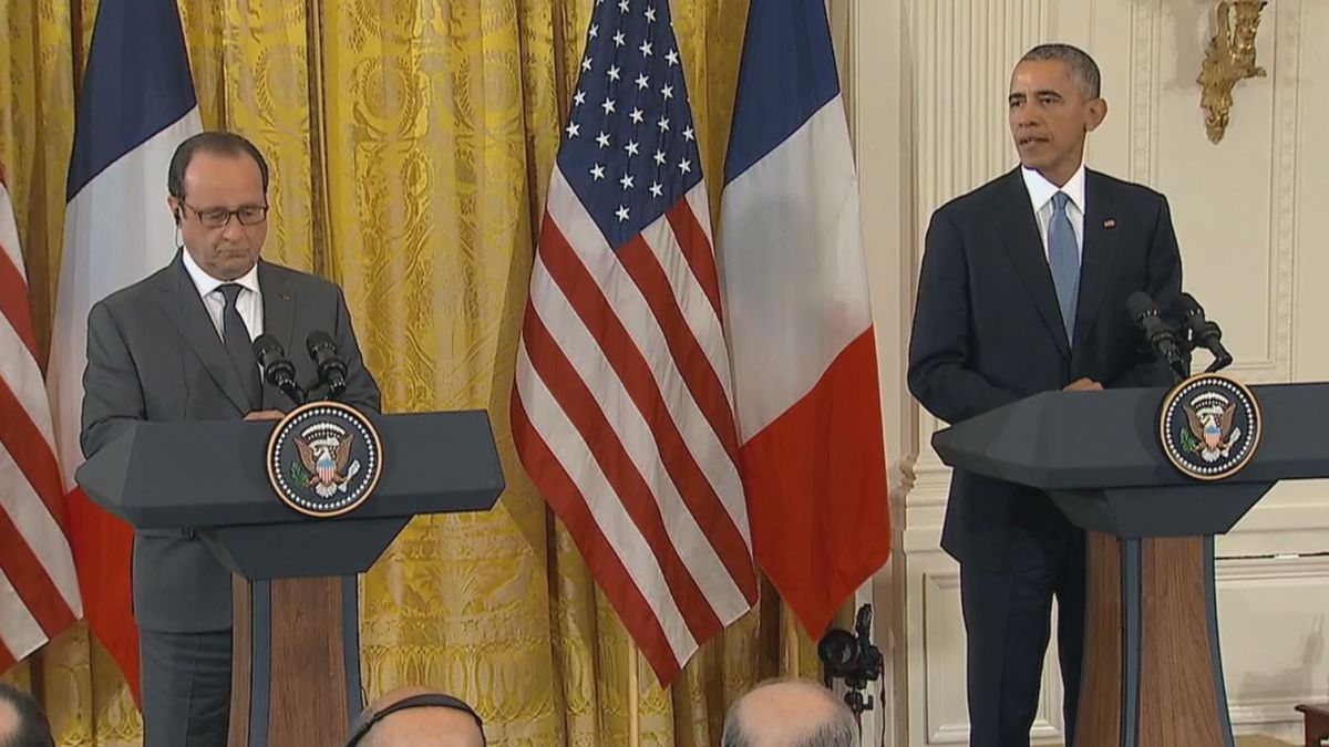 Obama: we stand with France, U.S. will not be terrorized