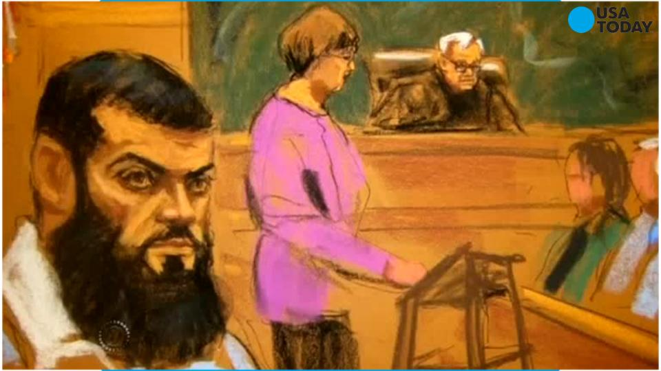 Terror operative gets 40 years in bomb plots