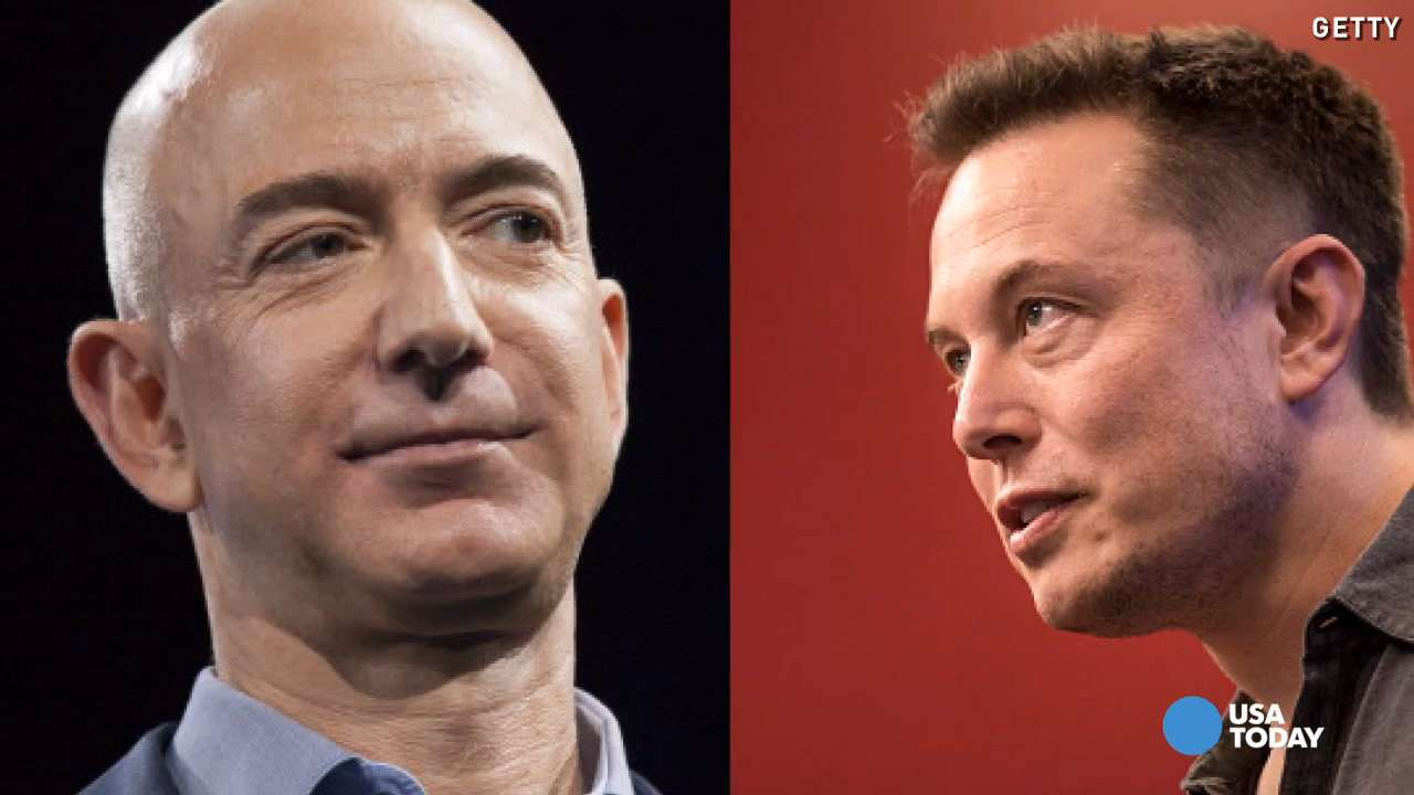 Elon Musk goes ballistic over Jeff Bezos' rocket feat