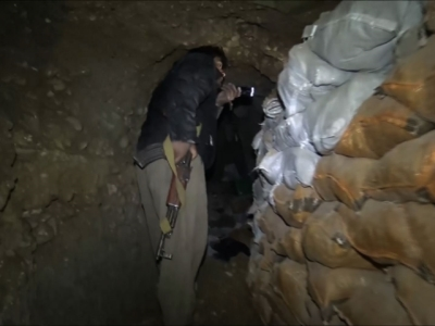 Under Iraqi Town, IS Built Network of Tunnels