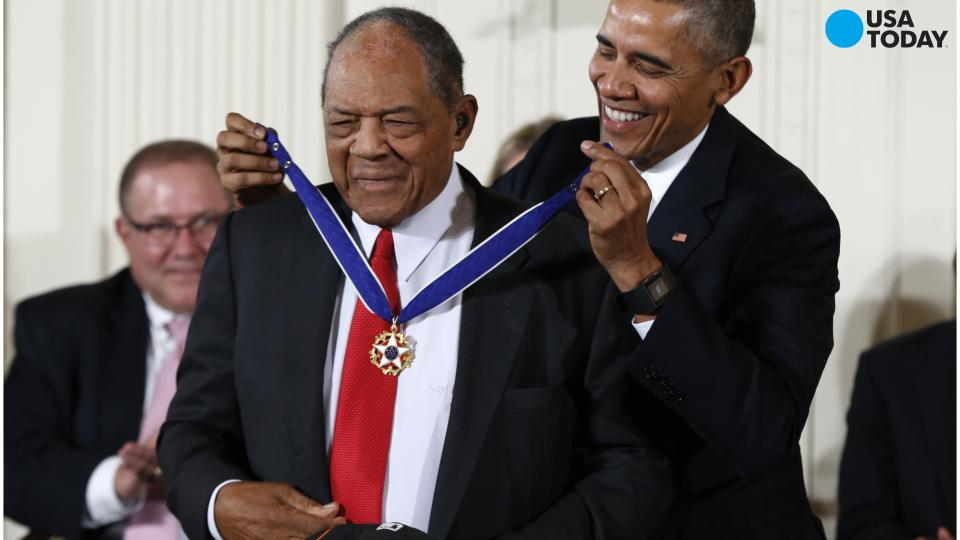 On Tuesday President Barack Obama presented 17 Americans with the nation's highest civilian honor.
