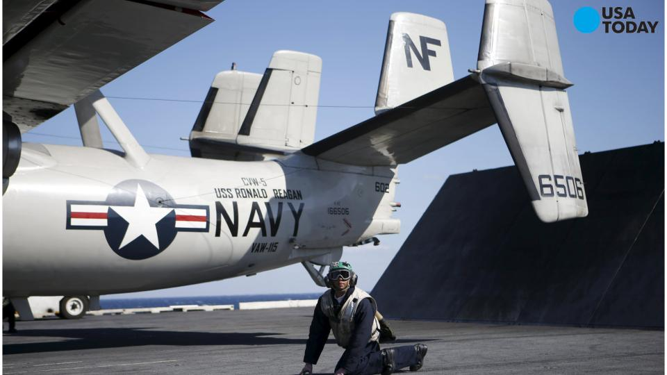 US and Japanese navies come together in South China Sea