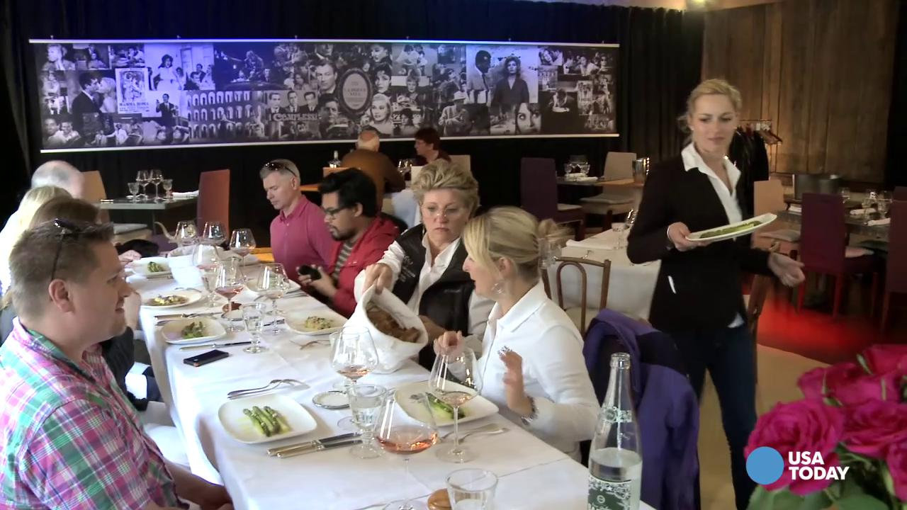 Join USA TODAY cruise editor Gene Sloan as he explores the culinary enrichment programs offered by Oceania Cruise's newest ship, Riviera.