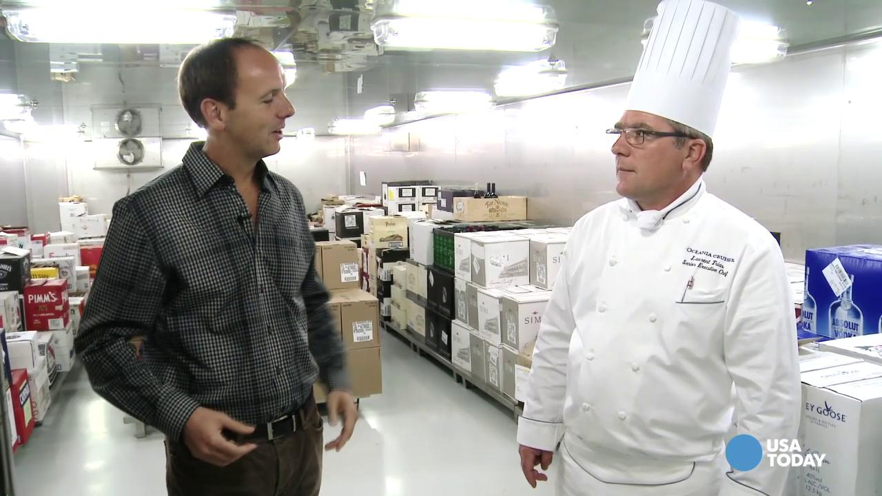 Go behind the scenes in Riviera's kitchens