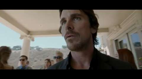 Christian Bale takes center stage in the first trailer for Terrence Malick's (Tree of Life) upcoming Knight of Cups. Details are scarce, but based on the trailer, the movie appears to be a meditation on Hollywood excess. Cate Blanchett and Natalie Portman co-star in the film, scheduled to debut at the Berlin Film Festival in February.