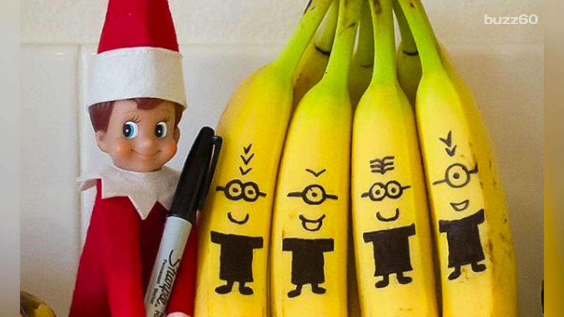 Have you already run out of 'Elf on the Shelf' ideas? Keri Lumm (@thekerilumm) has five simple suggestions and one that requires a little more time.