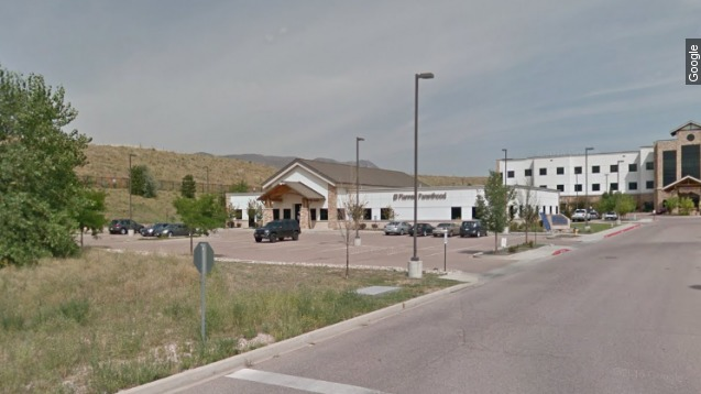 Shooter at Colo. Planned Parenthood