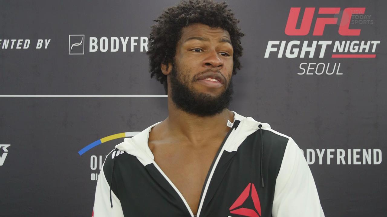 Dominique Steele UFC Fight Night 79 post fight interview