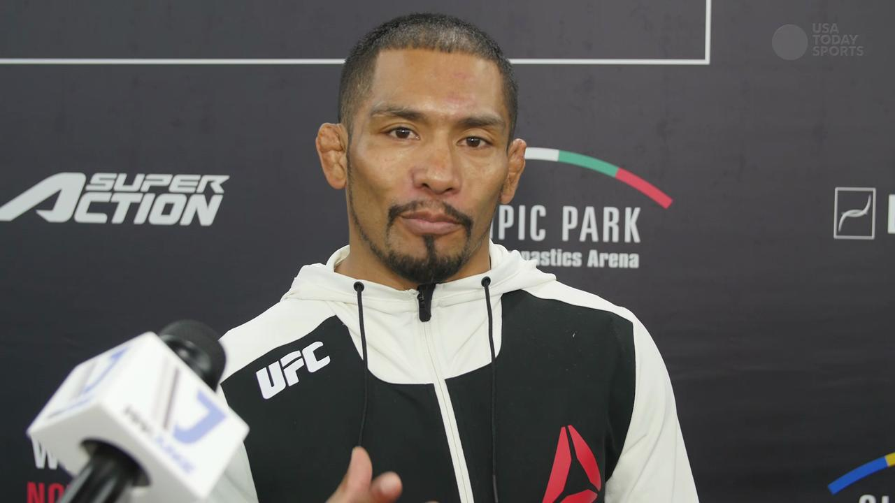 Fredy Serrano UFC Fight Night 79 post-fight interview