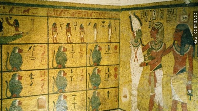 Scans suggest a hidden chamber in King Tut's tomb