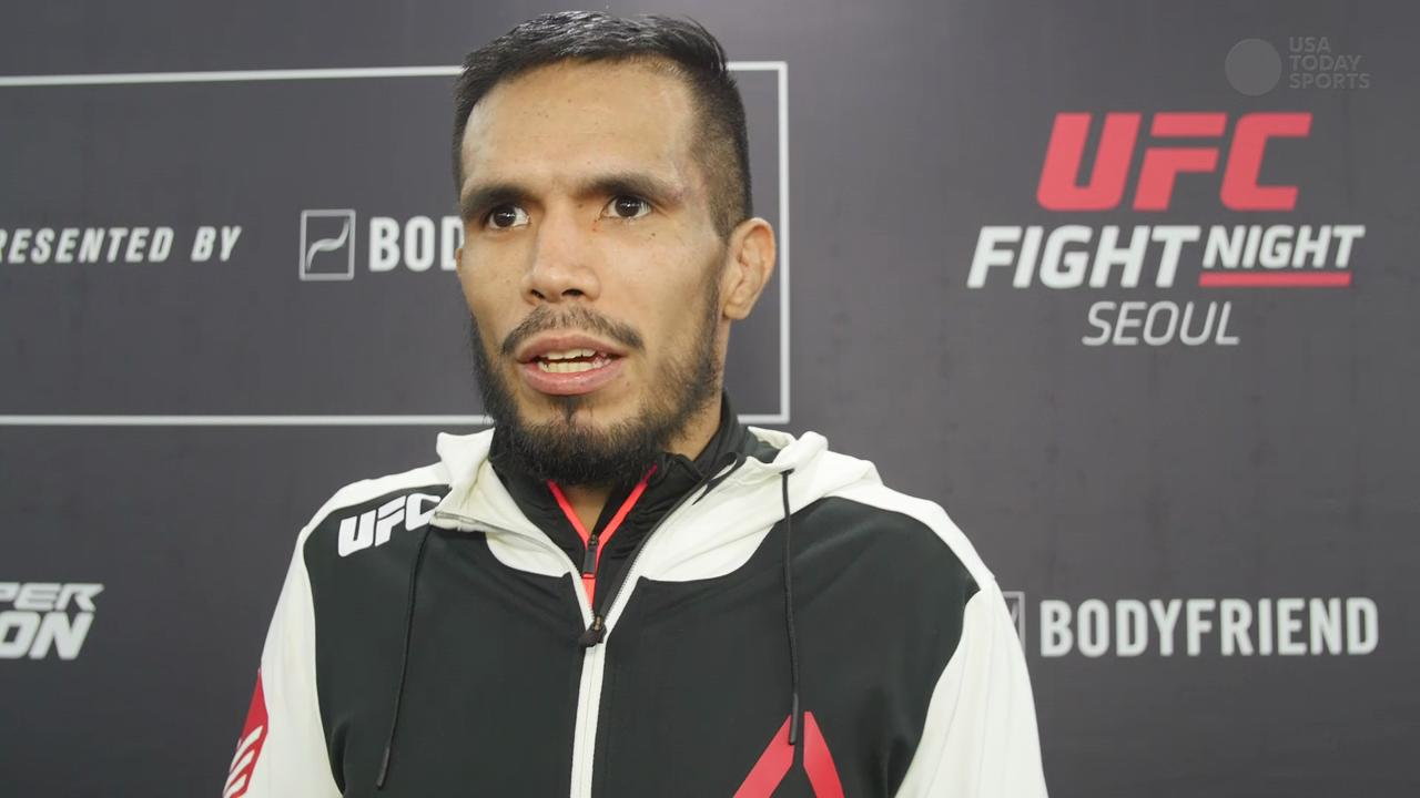 Mike De La Torre Post Fight UFC Fight Night 79