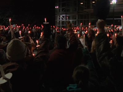 Hundreds attend vigil for Colorado Springs shooting victims