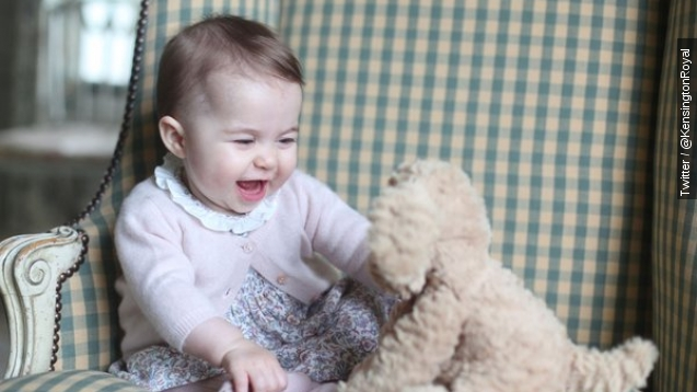 Twitter can't get over Princess Charlotte's baby pics