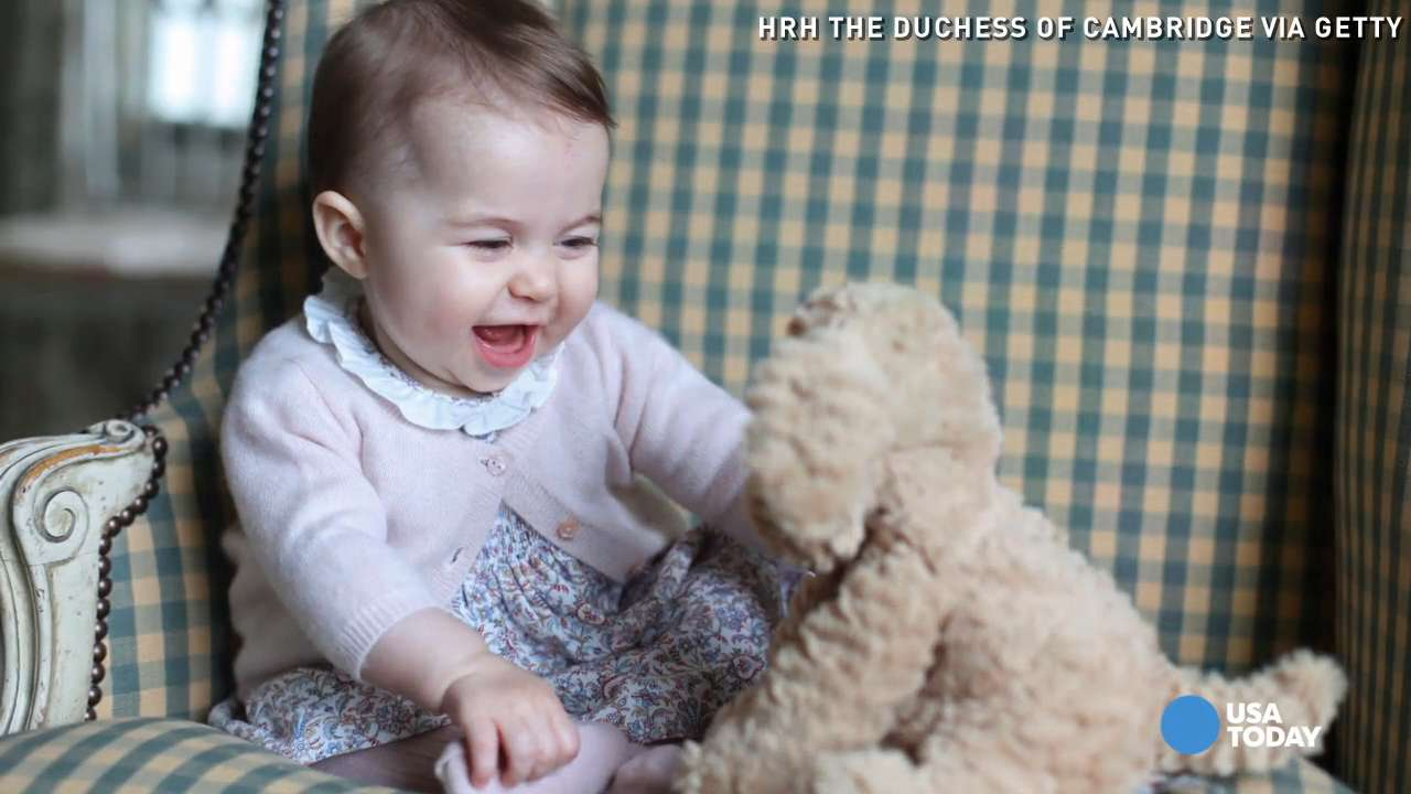 Princess Charlotte charms in new royal photos