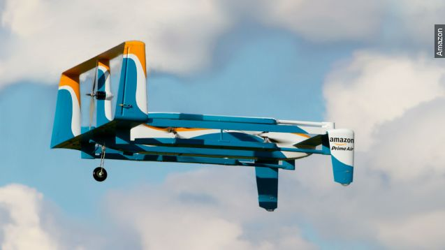 Here's what Amazon's drone prototypes look like