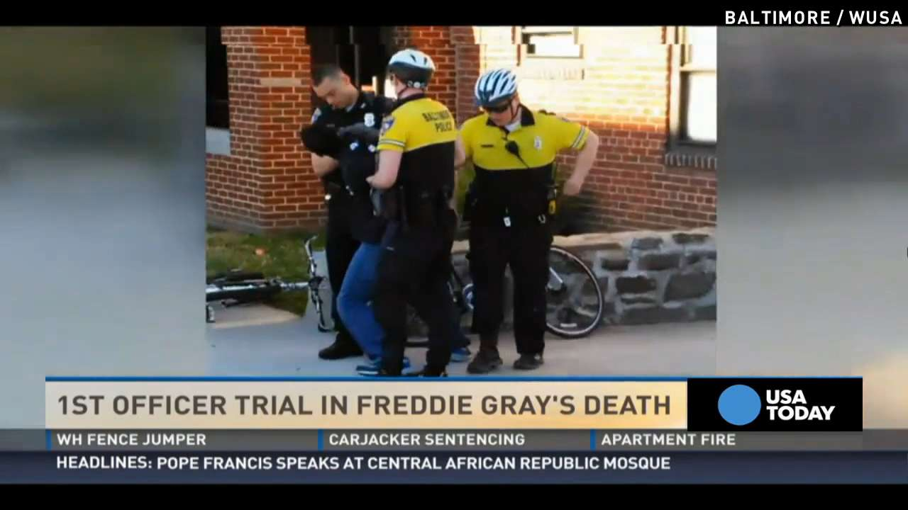 First Freddie Gray trial begins, Baltimore braces for riots
