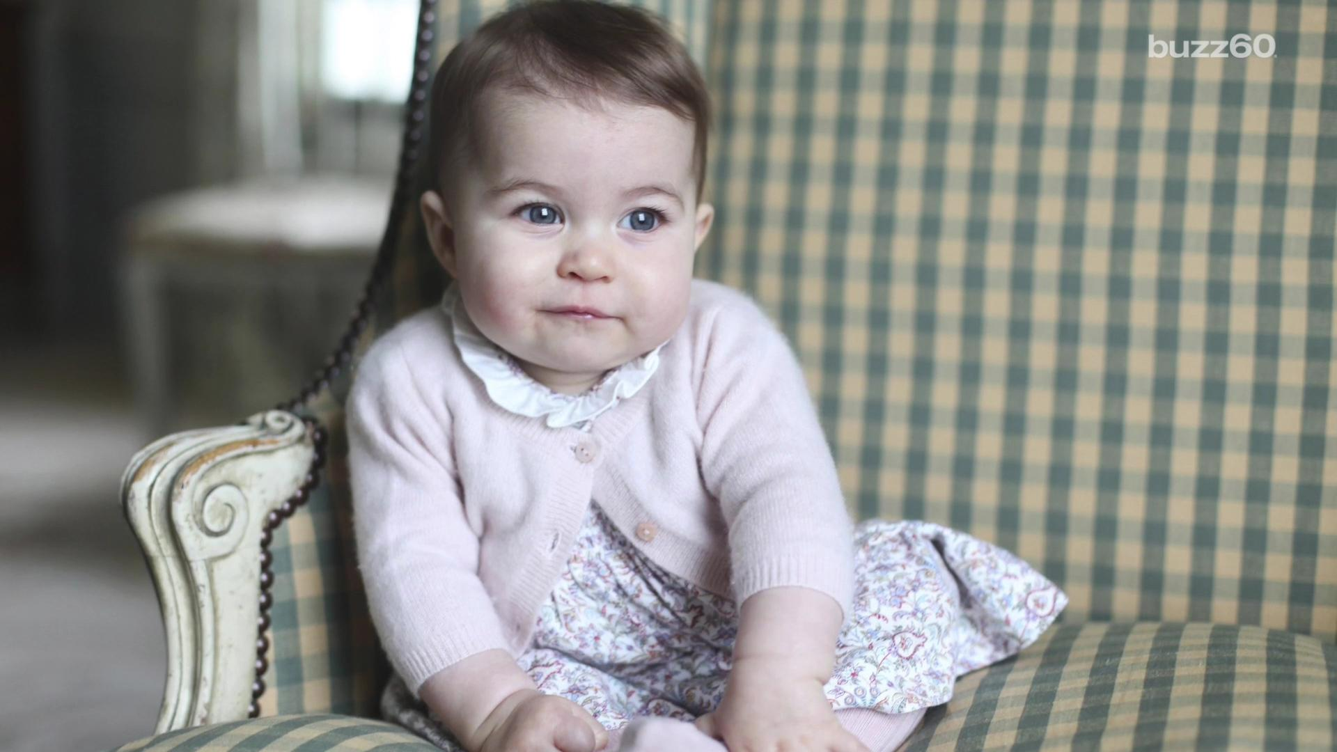 Princess Charlotte looks perfectly adorable in new photos taken by Kate Middleton