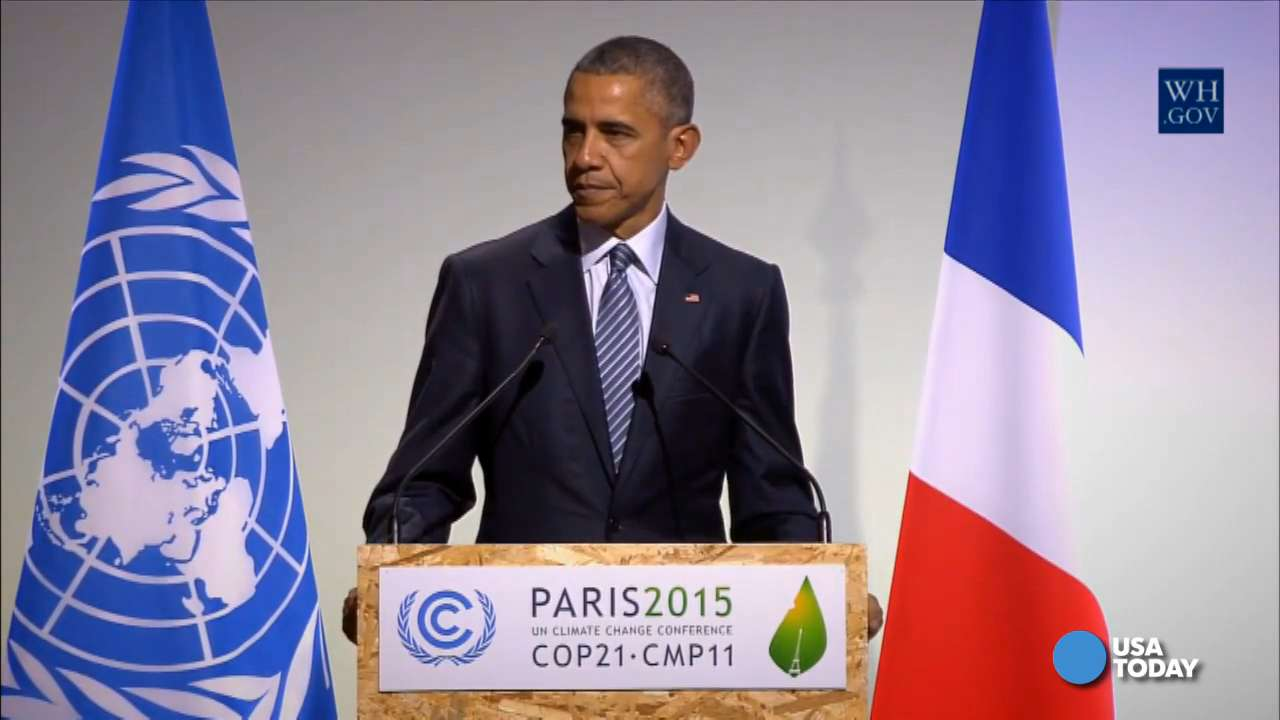Obama 'personally' acknowledges U S  role in climate change