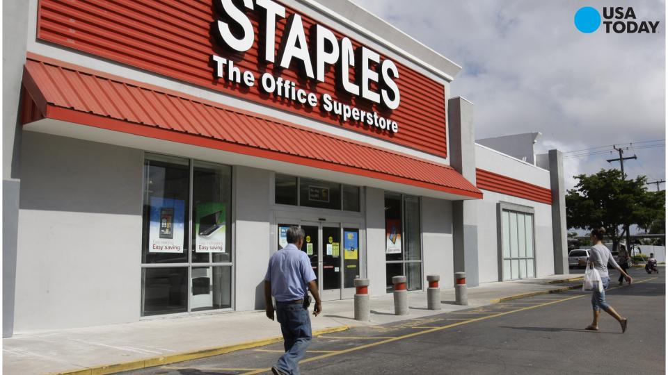 Report: Feds set to stop Staples, Office Depot merger