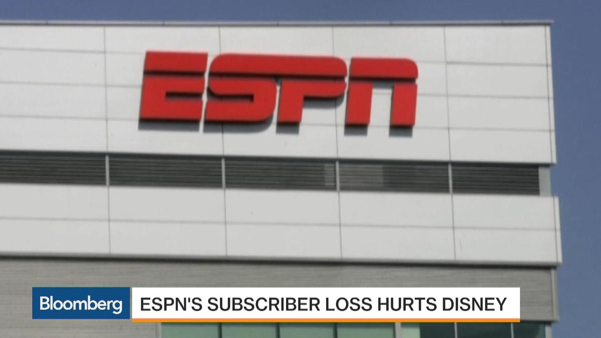 Disney feels pain of seven million lost ESPN subscribers