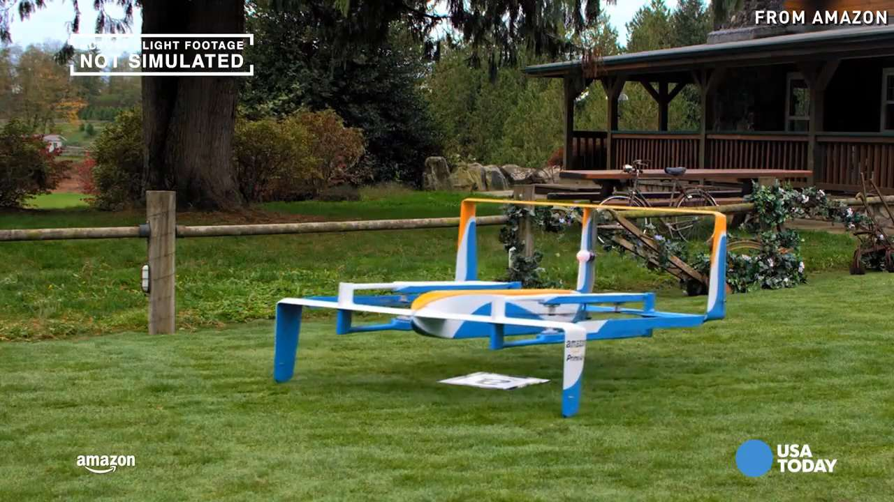 Amazon Prime Air drone and other weird ways to get mail