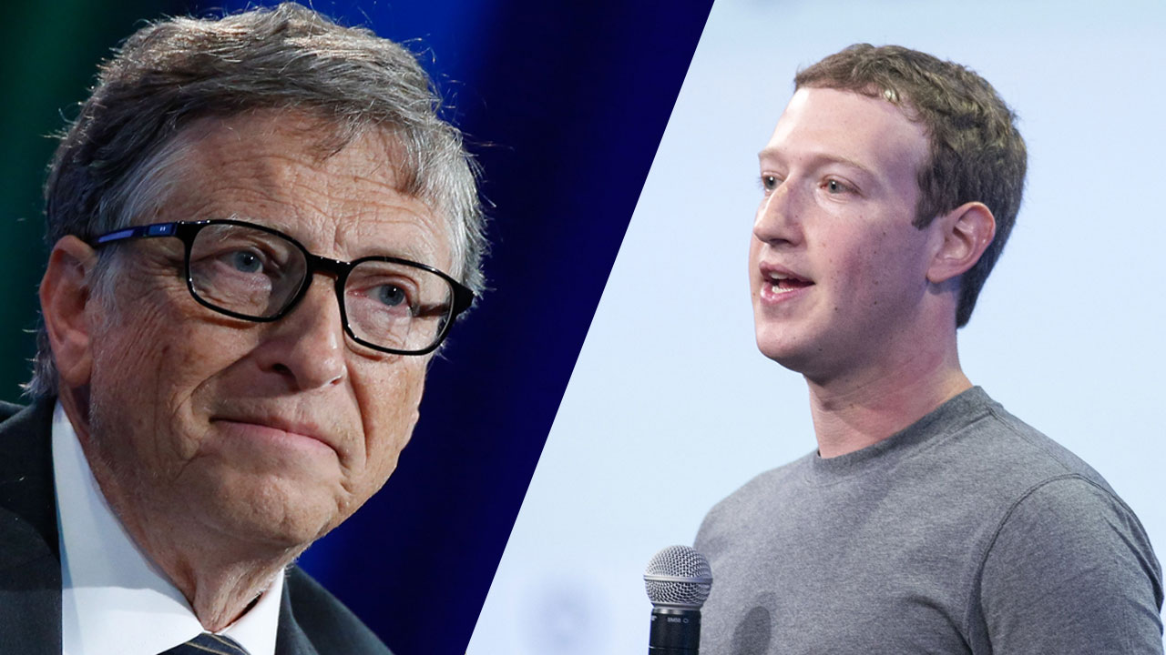Bill Gates and Mark Zuckerberg want to save the world