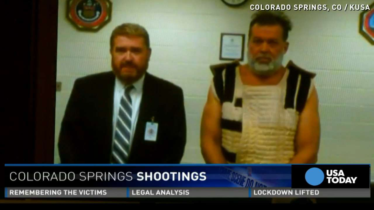 Suspect in Planned Parenthood shooting appears in court